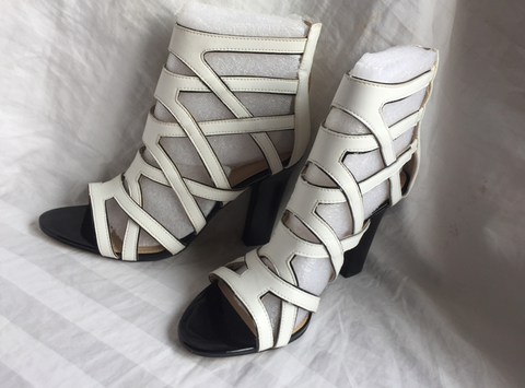 Marc Fisher Leana Caged Heeled Sandals Size 9M Womens 20218 121
