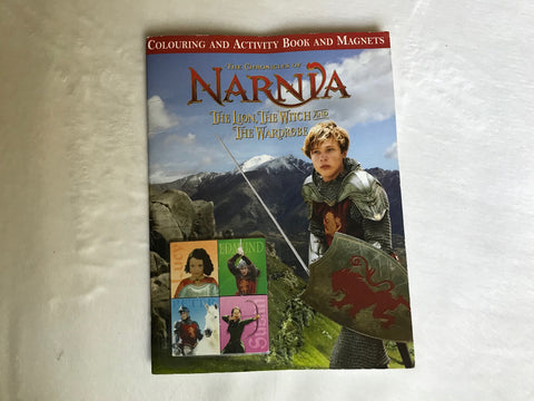 The Lion the Witch Wardrobe Coloring/Activity Book/Magnets (Narnia) 13852 106