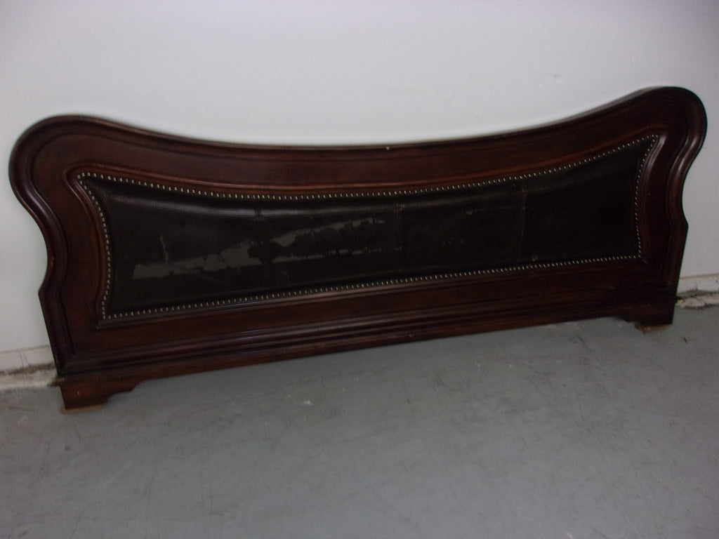 King padded footboard damaged W1052