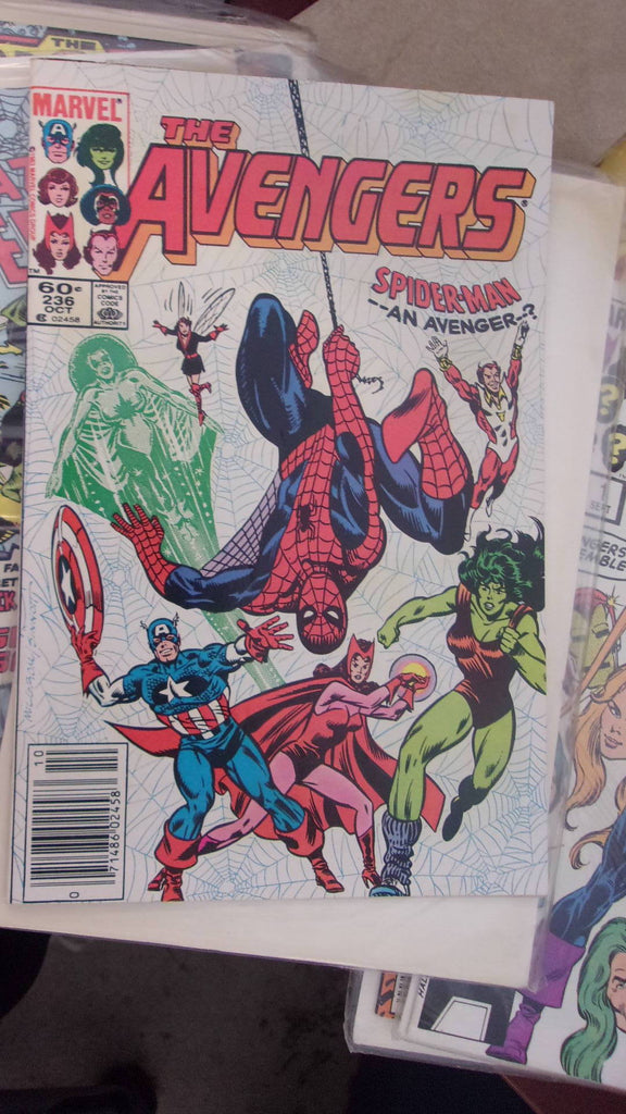 Comic book The Avengers Spider-man -- An Avenger--? 16549