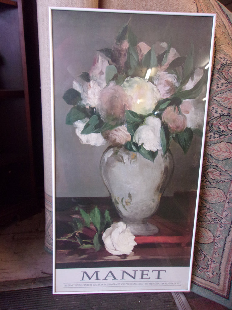 Manet floral framed picture 17293
