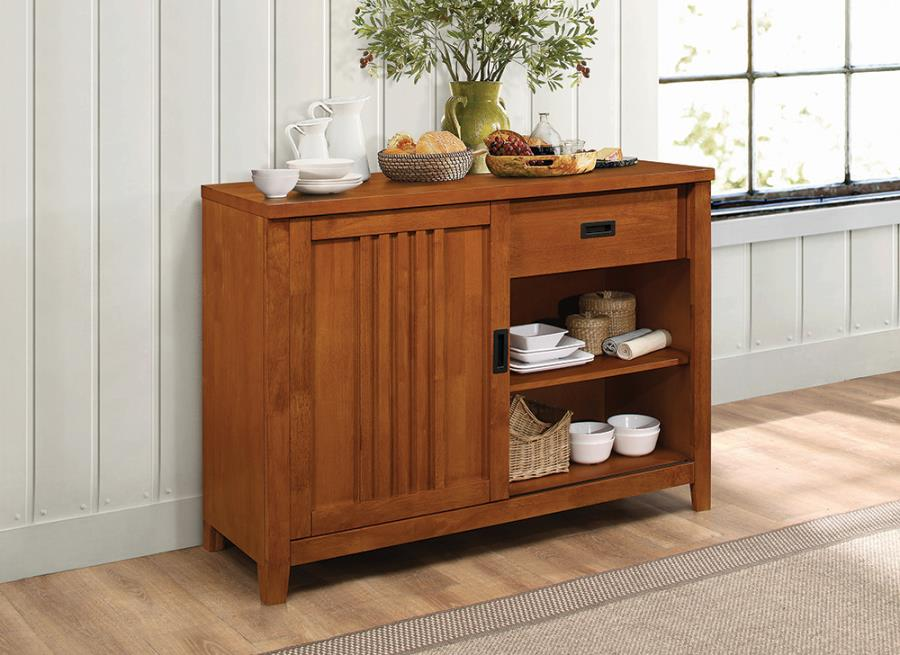 CLEARANCE Marbrisa server sideboard cabinet by Coaster NEW CO-100626
