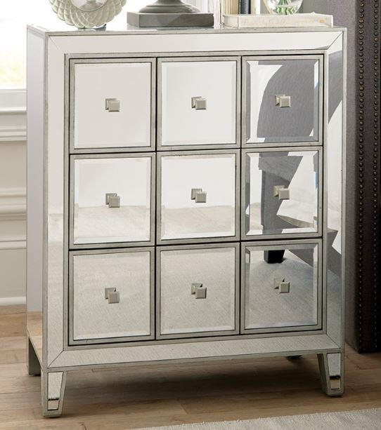 Clearance Mirrored Accent Chest By Coaster New Co 950911 Amazing