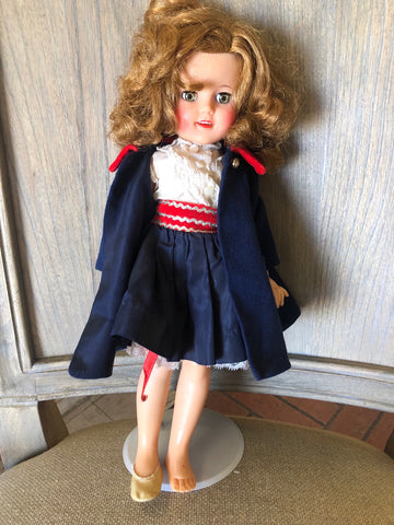 Vintage Shirley Temple Doll St-15-N Open Close Eyes Ideal 20369 121