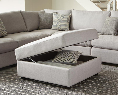 Charlotte sectional storage ottoman by Scott Living, Coaster CO-551223