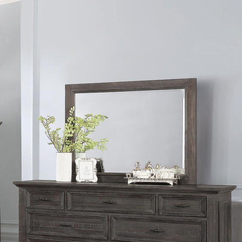 Atascadero mirror weathered carbon grey/gray finish NEW CO-222884