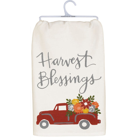 Dish Towel - Harvest Blessings Primitives by Kathy NEW PK-103698