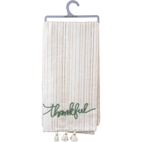 Dish towel - Thankful Primitives by Kathy NEW PK-105174