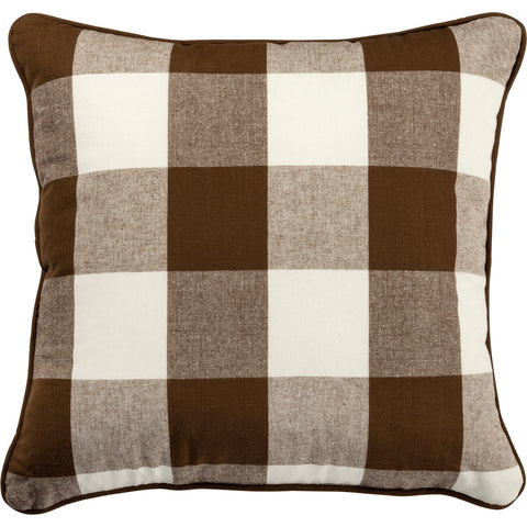 Pillow - Brown Buffalo Check Primitives by Kathy NEW PK-106503