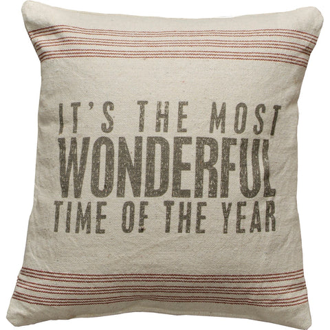 Pillow - Most Wonderful Primitives by Kathy NEW PK-18649