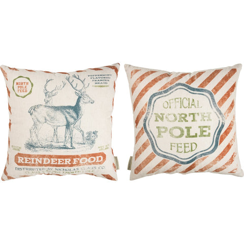 Pillow - North Pole Feed Primitives by Kathy NEW PK-38679