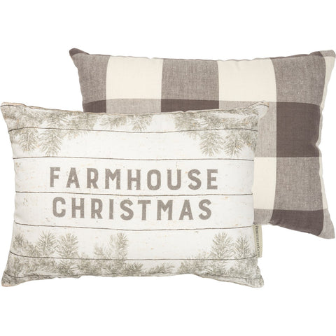 Pillow - Farmhouse Christmas Primitives by Kathy NEW PK-39918