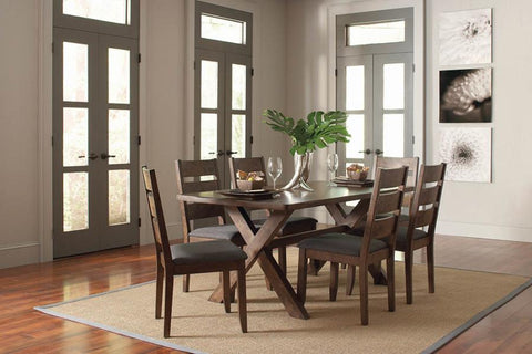 Alston dining table w 4 chairs 5pc set NEW CO-106381-S5