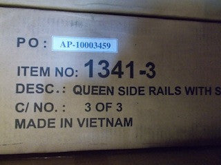 Queen side rails HE-1341-3