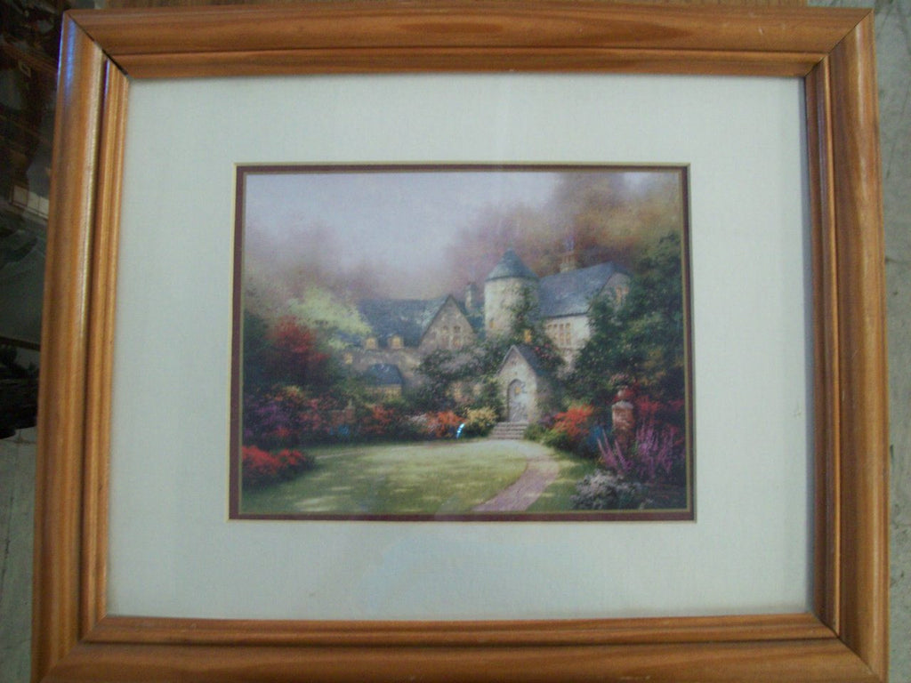 "Thomas Kinkade print ""Beyond Autum Gate"" 5290"