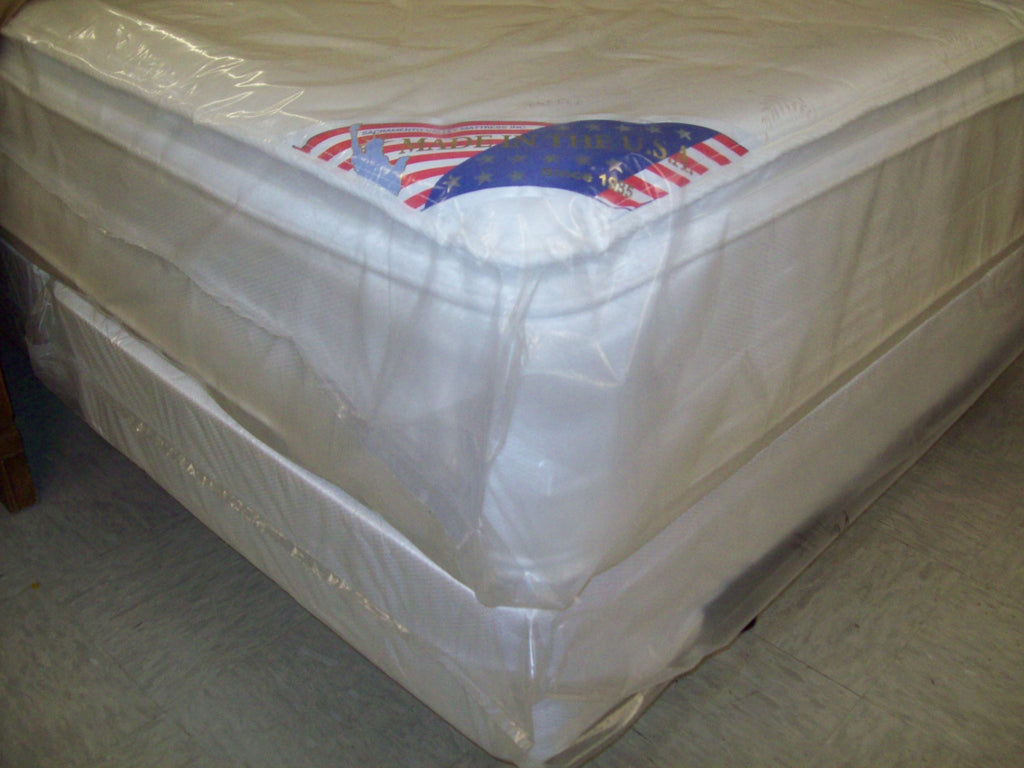 Cal king pillow top mattress rebuilt SV-1077M