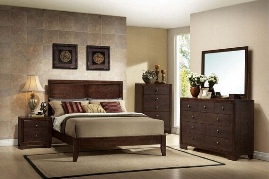 Madison panel queen bed AC-19570-Q
