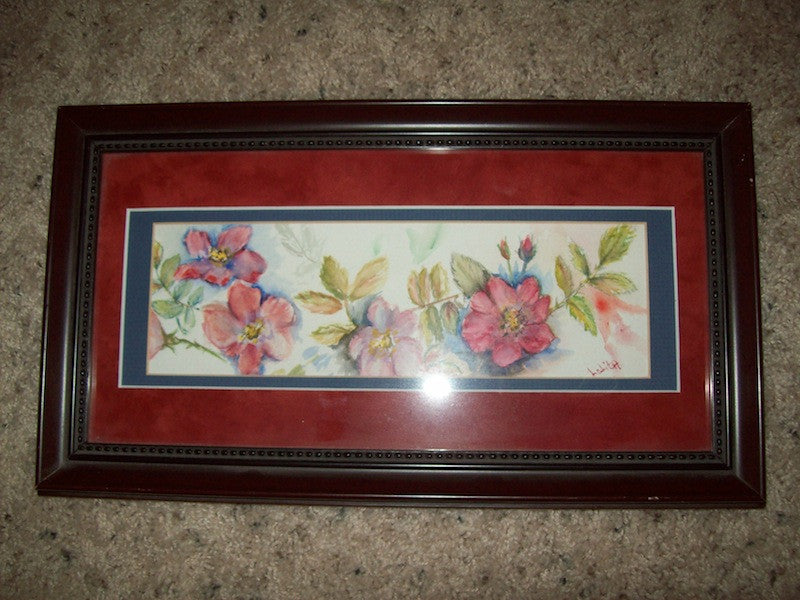 Picture small floral 1569