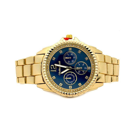 Chronograph Gold-Tone Watch