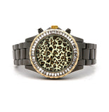 Grey Animal Print BAND WATCH