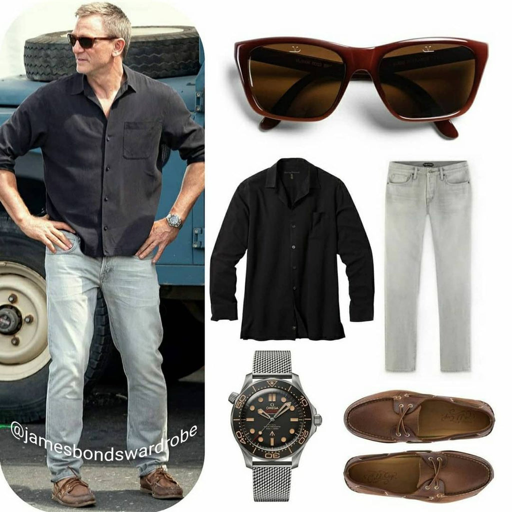 James Bond No Time To Die Jamaica Outfit - Thommy Bahama Shirt