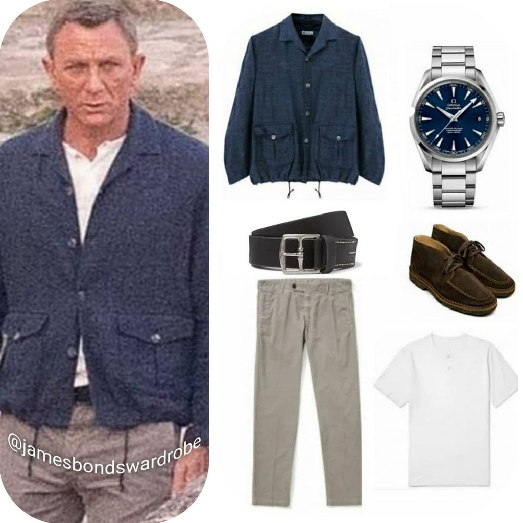 James Bond Outfit No Time To Die Mattera Italy Scenes