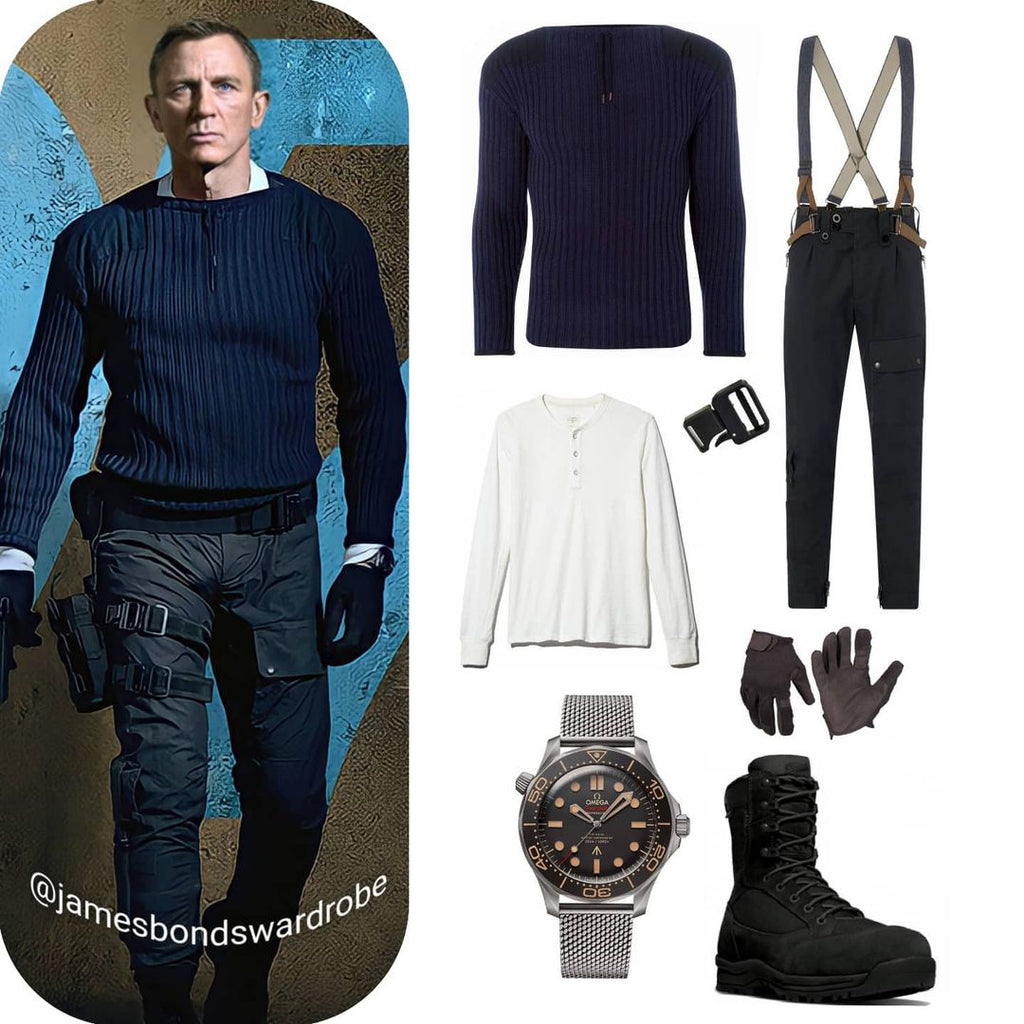 James Bond No Time To Die Commando Outfit N.Peal