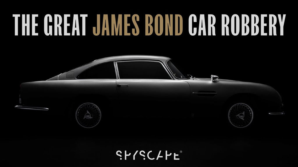 The Great James Bond Car Robbery Podcast