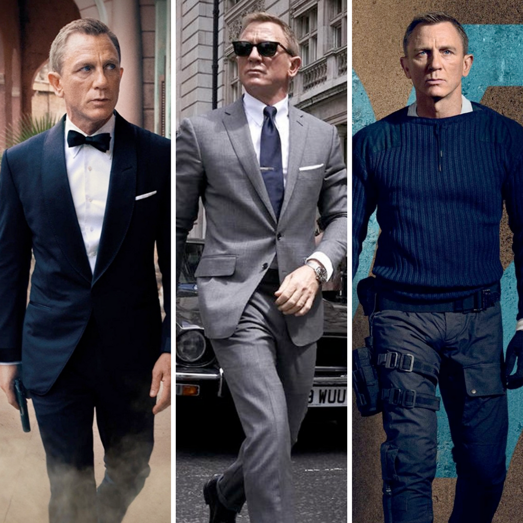 James Bond No Time To Die Outfits