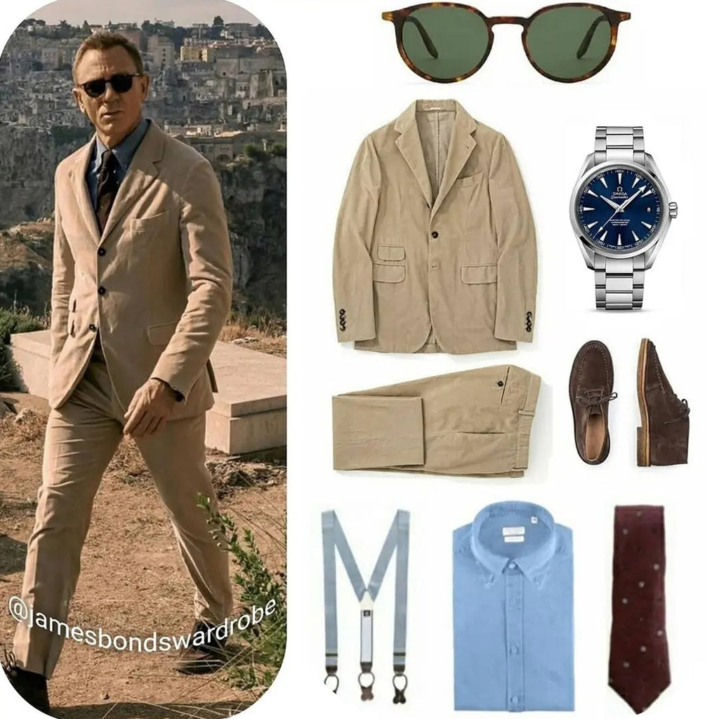 James Bond No Time To Die Matera Suit