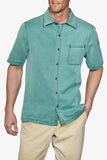 Short Sleeve Havana Cloth - Lagoon