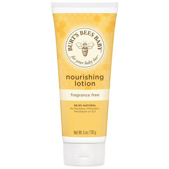 Burt's Bees Nourishing Lotion Fragrance Free - 6oz