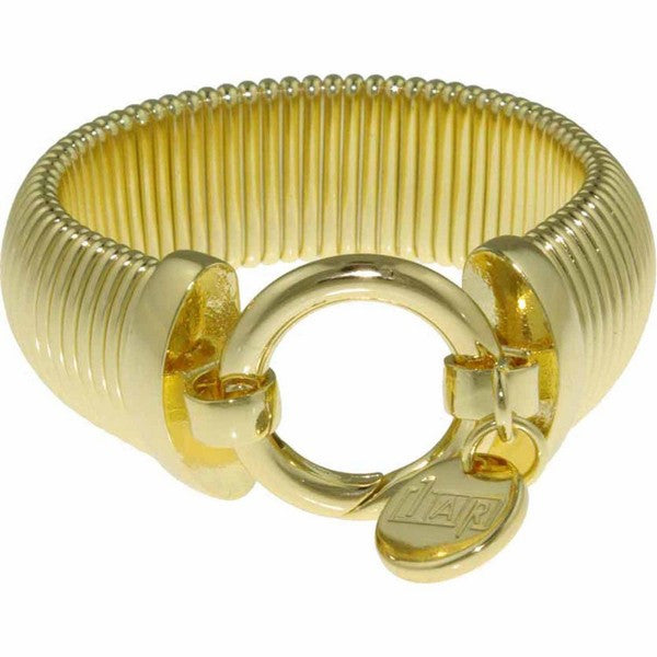 1AR by UnoAerre 18KT Gold Plated couture bracelet