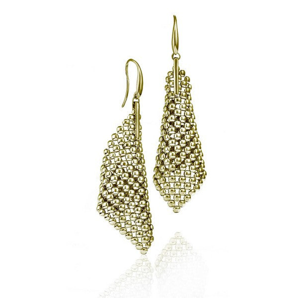 1AR by UnoAerre 18KT GEP Perline Large Cone Earring