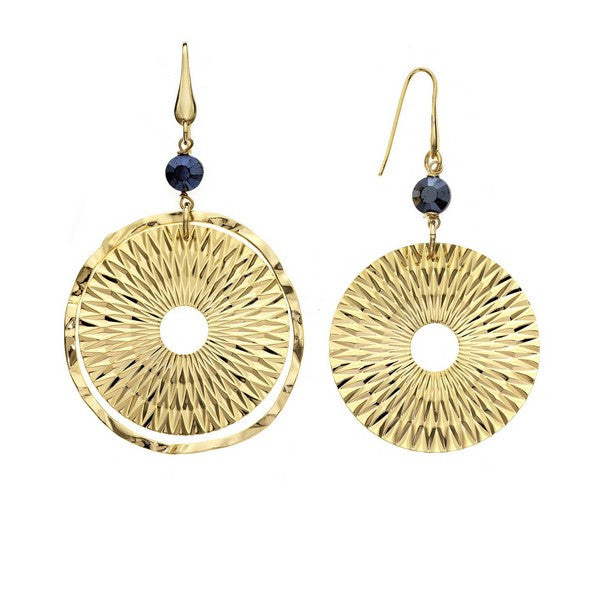 1AR by UnoAerre 18KT gold plated dreamcatcher style earring