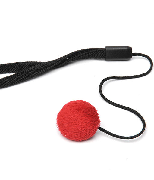 Mod Straps Red Minky Lens Cap Keeper