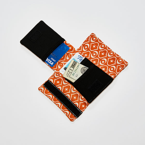 Mod Straps Orange Print Camera Strap Wrap Storage Pouch