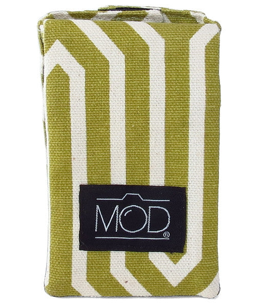 Mod Straps Green Maze Camera Strap Wrap Storage Pouch