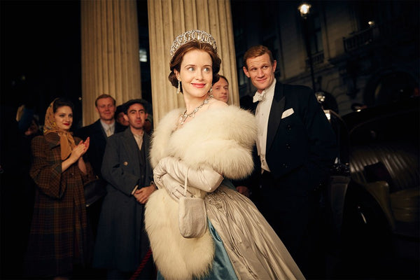 Claire Foy plays Queen Elizabeth on Netflix's The Crown