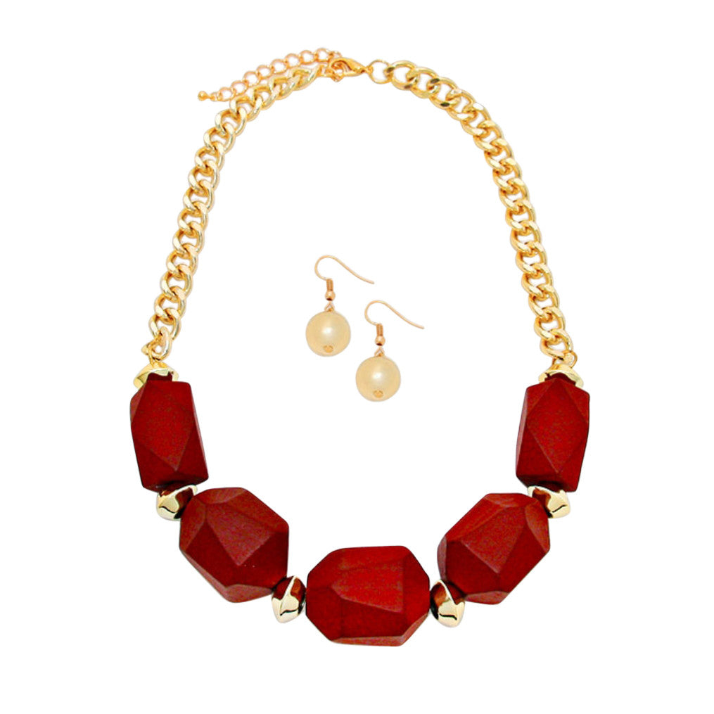 set product maroon meenakari choker necklace