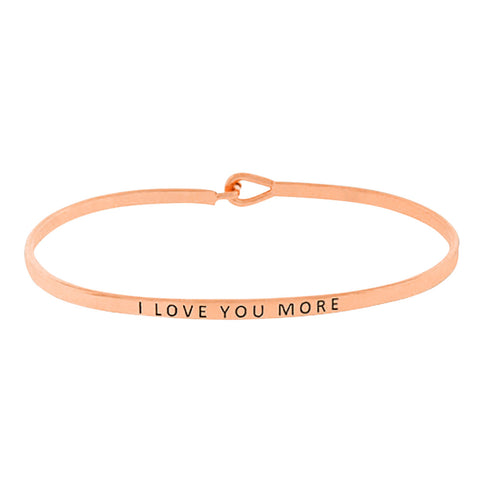 Live in the Moment Charm Bangle Bracelet