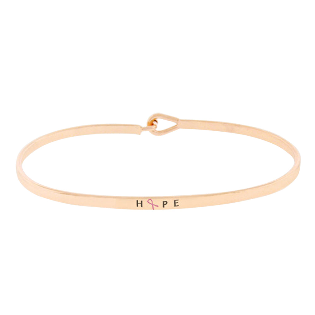 bracelet jewelry gold bangle bangles mom initial layered product w rose trendy
