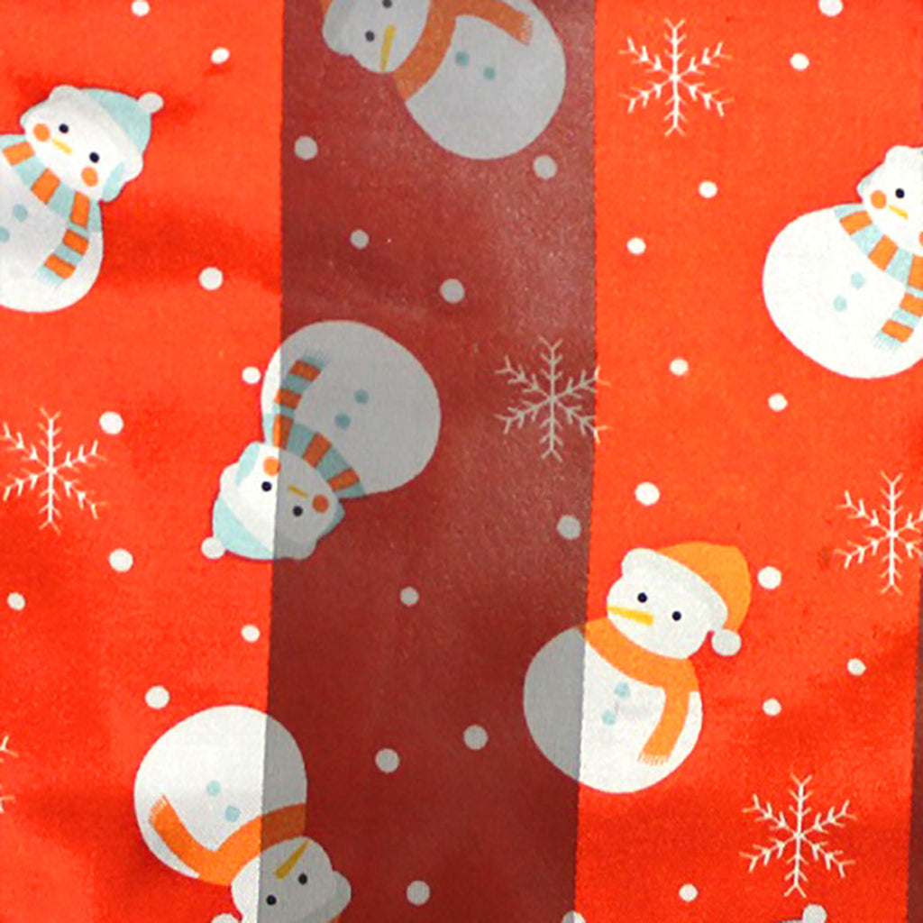 Little Snowman Red Holiday Fashion Scarf