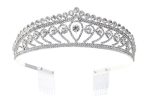 Elegant Headpiece Traditional Bridal Tiara
