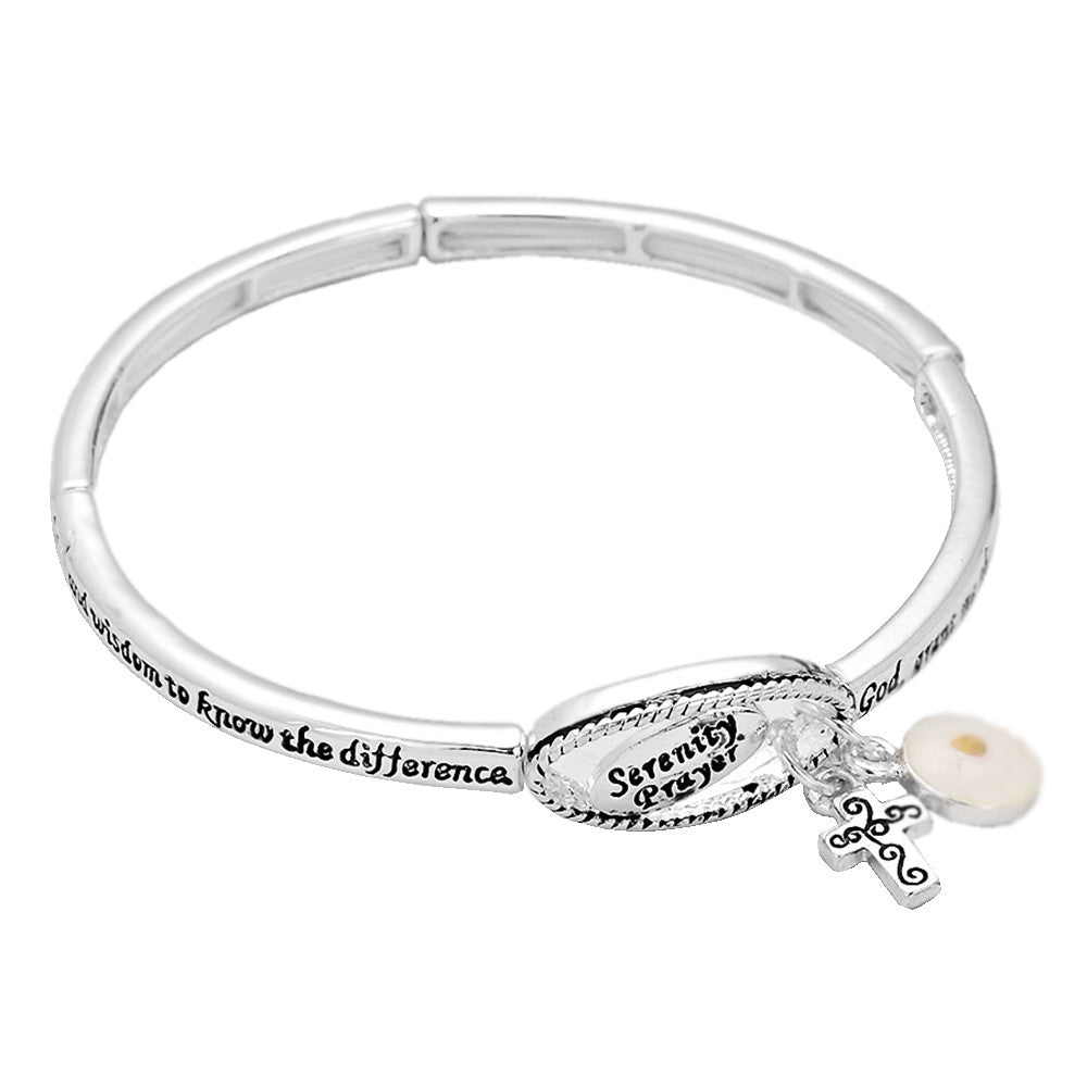 Serenity Courage Wisdom Stretch Bracelet