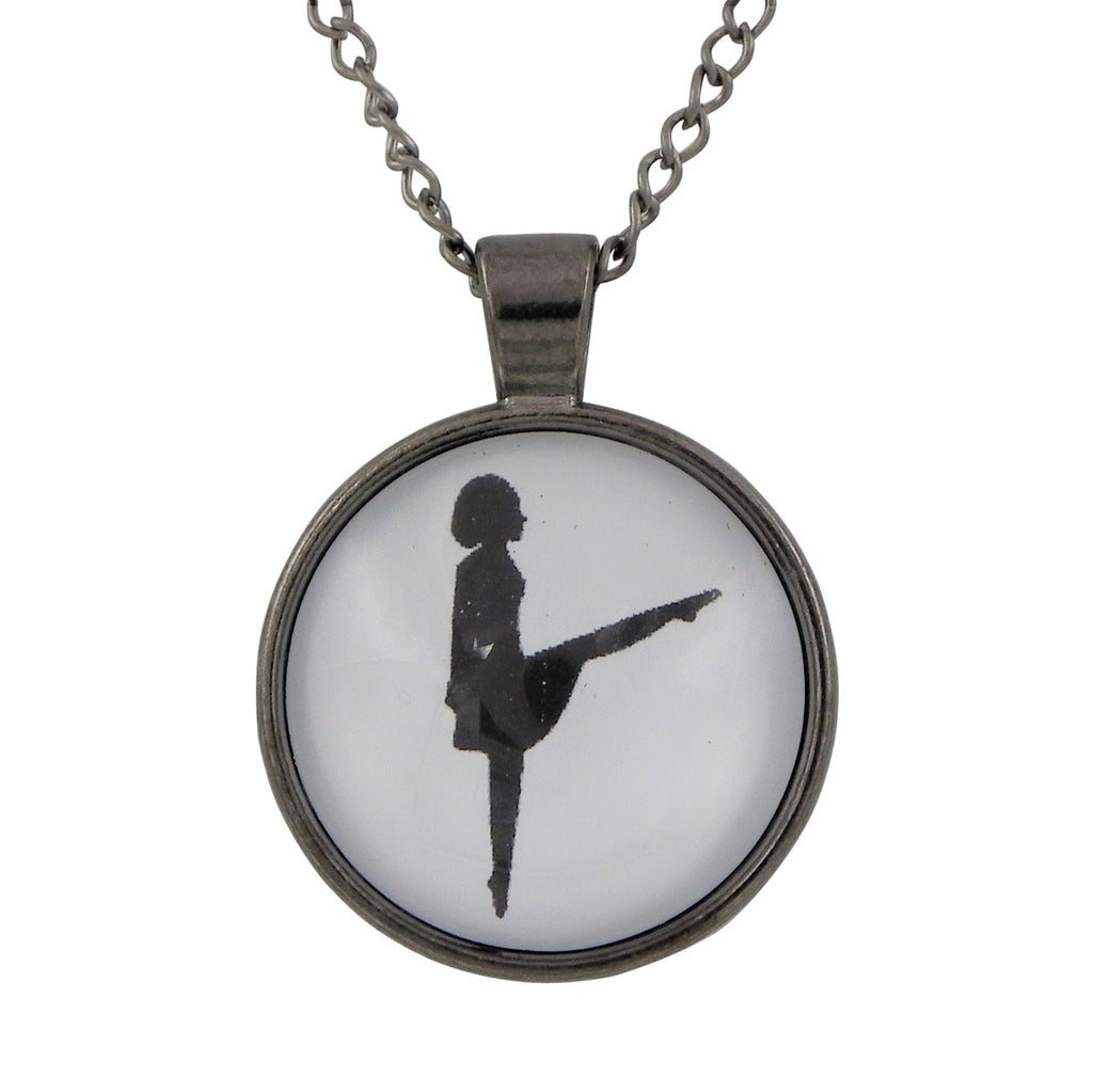 Irish Step Dancer Pendant St Patrick's Day Necklace