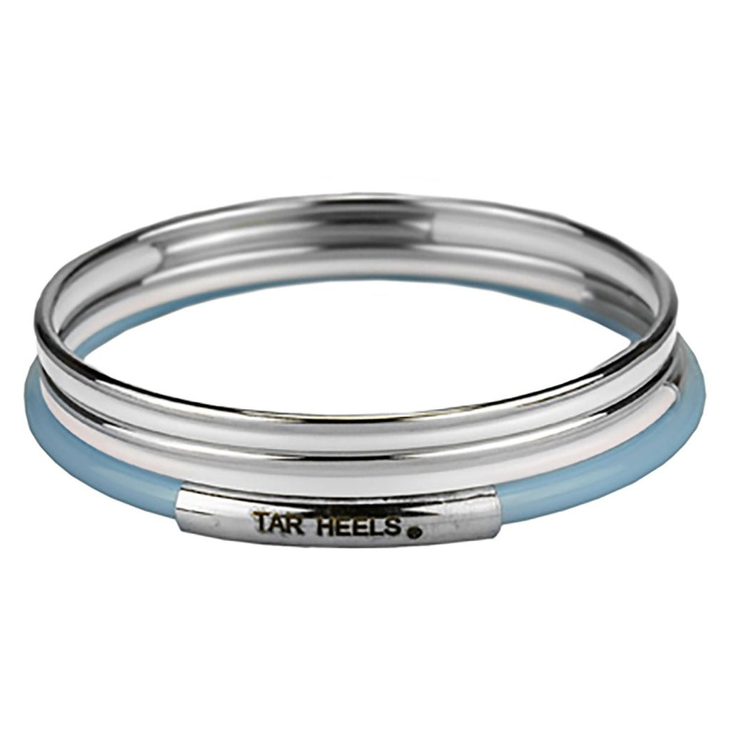 University of North Carolina 5 Layered Bangle Bracelet Set