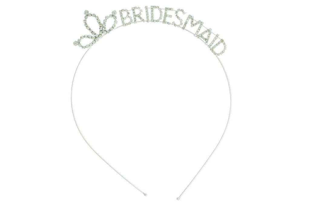 Bridesmaid Bachelorette Party Rhinestone Tiara Headband