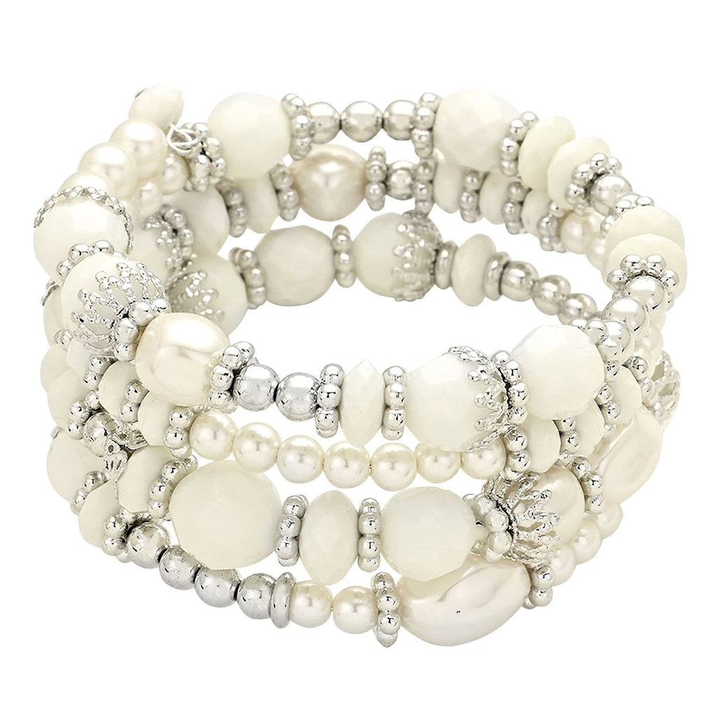 bracelet gold i with large loose faux chanel plated s fiting white cc pearls black