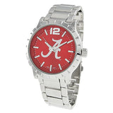 Rosemarie Collections Men's University of Alabama Crimson Tide Licensed Collegiate Watch